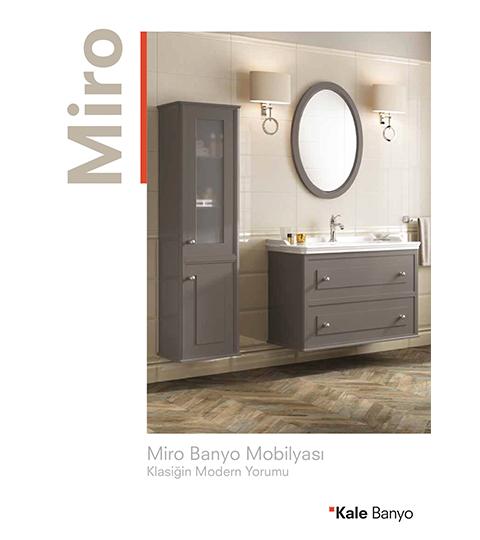 Miro Banyo Mobilyası